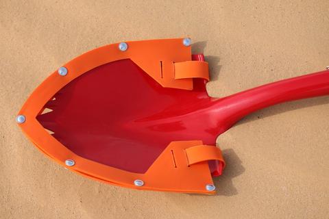 Shovel Guard Only For KB Super Shovel Orange Krazy Beaver