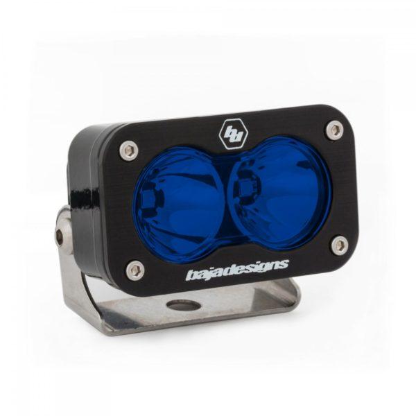 LED Work Light Blue Lens Spot Pattern S2 Pro Baja Designs