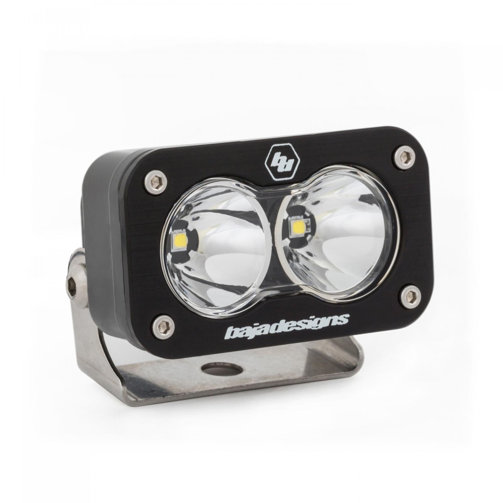 LED Work Light Clear Lens Spot Pattern Each S2 Sport Baja Designs