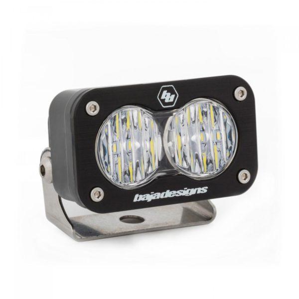 LED Work Light Clear Lens Wide Cornering Pattern Each S2 Sport Baja Designs