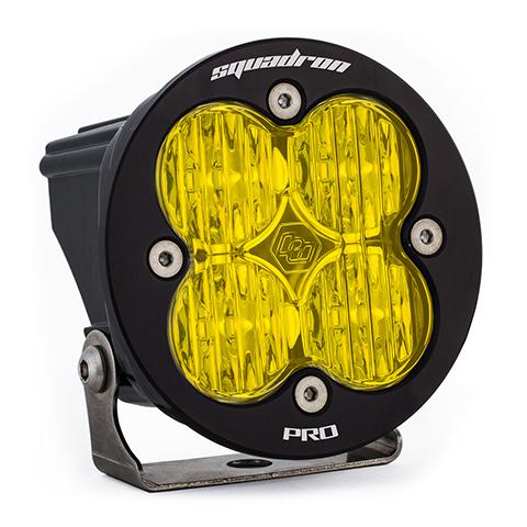 LED Light Pod Amber Lens Wide Cornering Pattern Each Squadron R Pro Baja Designs