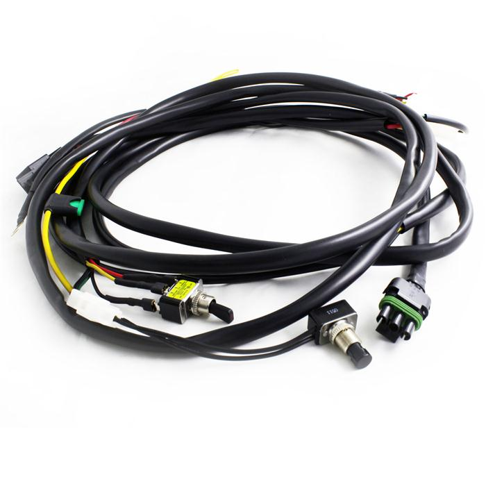 XL Pro and Sport Wire Harness w/Mode 2 lights Max 325 Watts Baja Designs
