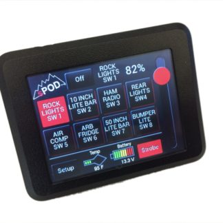 Tacoma Switch Panel 8 Circuit Source SE W/Touchscreen 05-17 Tacoma sPOD