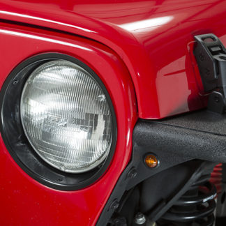 Amber LED's 3/4 Inch Pair Fishbone Offroad