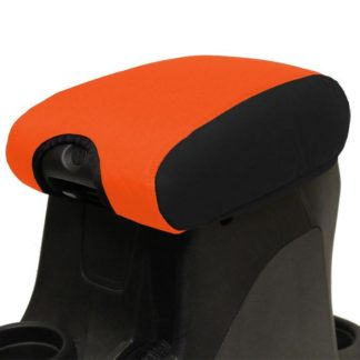 Jeep Center Console Cover Padded 11-17 Wrangler JK/JKU Black/Orange Bartact