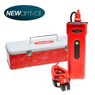 Portable Jump Starter W/600 Lumen Tactical Flashlight Jump Starter 66 Weego