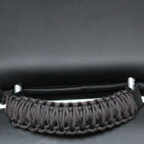 Jeep Headrest Paracoard Grab Handles Black/Olive Drab Pair Bartact