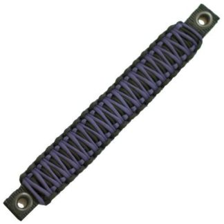 Jeep Wrangler Grab Handles Paracord JK Sound Bar Rear Side Pair Black/Purple Bartact