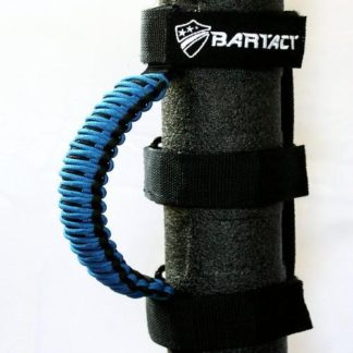 Paracord Grab Handles Universal Pair Black/Blue Bartact