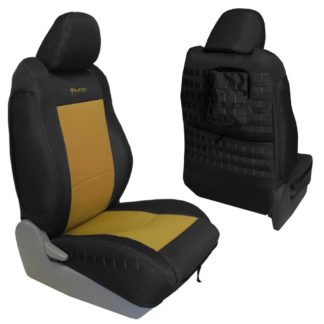 Toyota Tacoma Seat Covers 09-15 Tacoma TRD Front Coyote/Coyote Tactical Series Pair Bartact