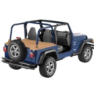 Jeep TJ Duster Deck Cover w/Factory Hardtop Removed 97-02 Jeep TJ Wrangler In Spice Bestop