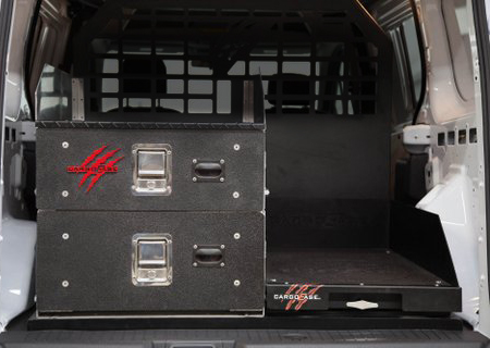 Cargo Slide/Locker Combination Pack Side By Side 24x24 Inches 15-Pres Chevy Tahoe/GMC Yukon XL Cargo Ease