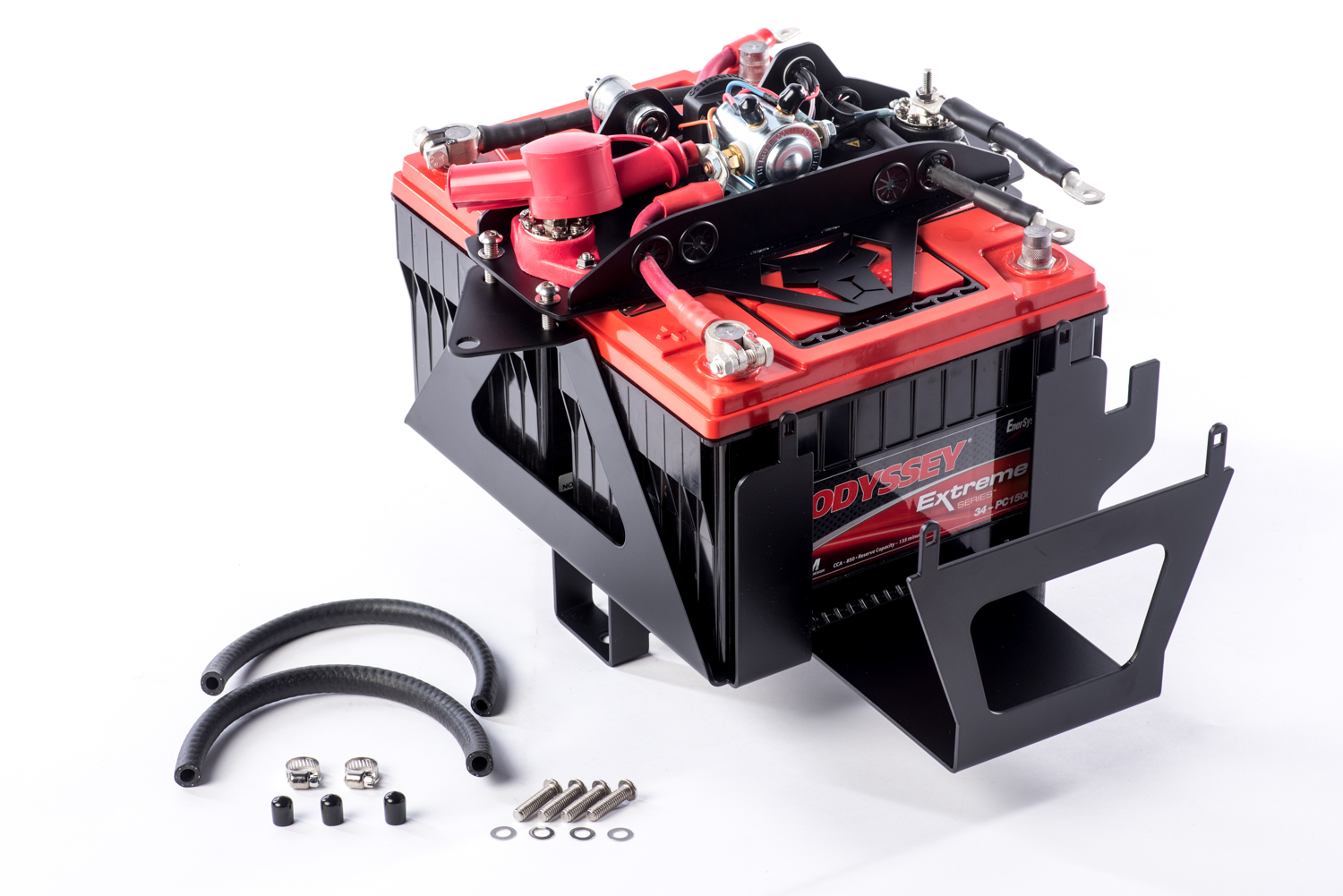 Jk Dual Battery Kit 85 Amp Isolator 12 Pres Wrangler Genesis Jeep Wiring Offroad Backwoods Overland