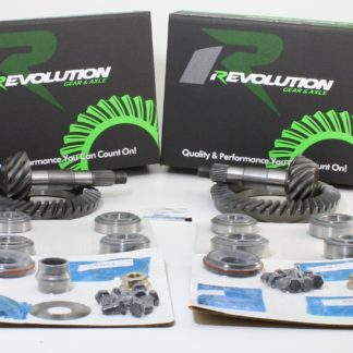 Toyota w/factory locker 07-09 FJ 05 and Up Tacoma 03-08 4runner (8/8ifs) 4.56 Gear Package front and rear gears and master kits (thick front gear to fit 3.73 and down case) Revolution Gear