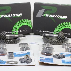 Suzuki Samurai 4.57 Gear Pkg Front and Rear w/Master Kits Revolution Gear